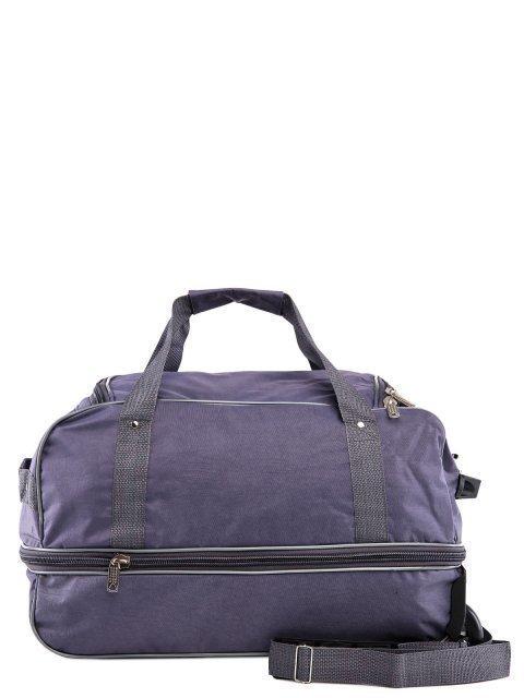 Серый чемодан Lbags (Эльбэгс) - артикул: К0000015921 - ракурс 3