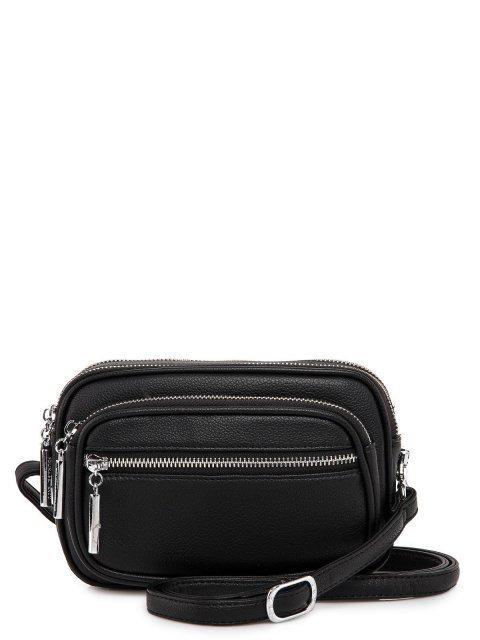 Чёрная сумка планшет Polina - 2879.00 руб