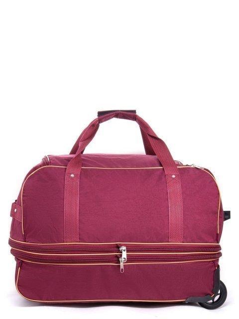 Бордовый чемодан Lbags (Эльбэгс) - артикул: К0000013244 - ракурс 2