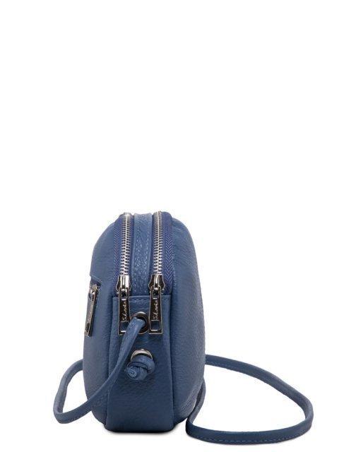 Голубая сумка планшет S.Lavia (Славия) - артикул: 0072 12 73 - ракурс 2