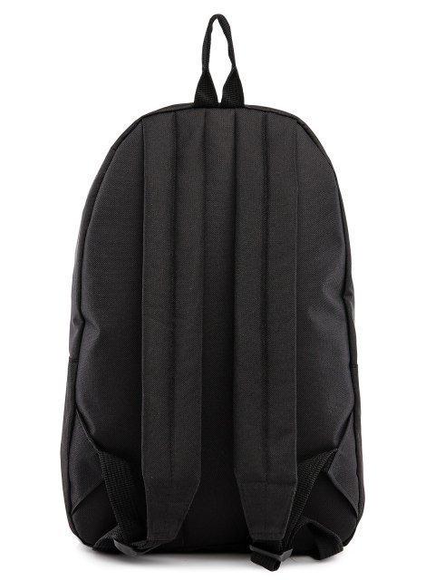 Чёрный рюкзак Lbags (Эльбэгс) - артикул: 0К-00029121 - ракурс 3