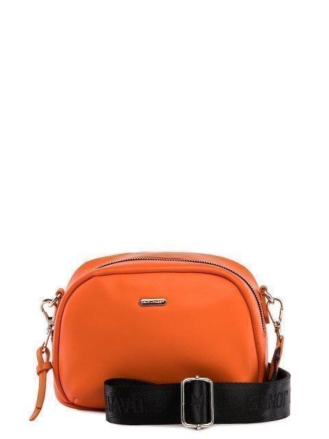 Оранжевая сумка планшет David Jones - 1199.00 руб
