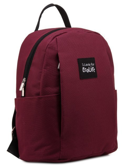 Бордовый рюкзак S.Lavia (Славия) - артикул: 00-75 000 03 - ракурс 1