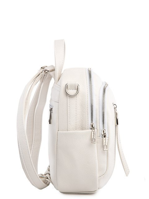 Белый рюкзак S.Lavia (Славия) - артикул: 1185 598 10.69К - ракурс 2