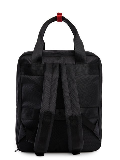 Чёрный рюкзак S.Lavia (Славия) - артикул: 00-100 000 01 - ракурс 3