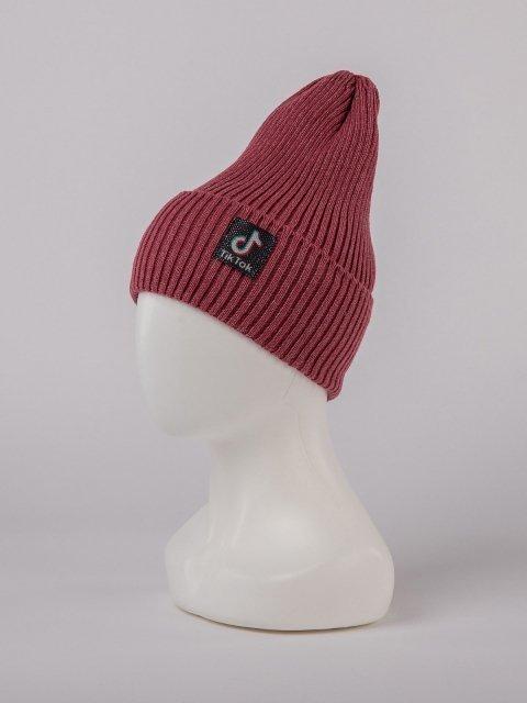 Бордовая шапка Fashion Style - 699.00 руб