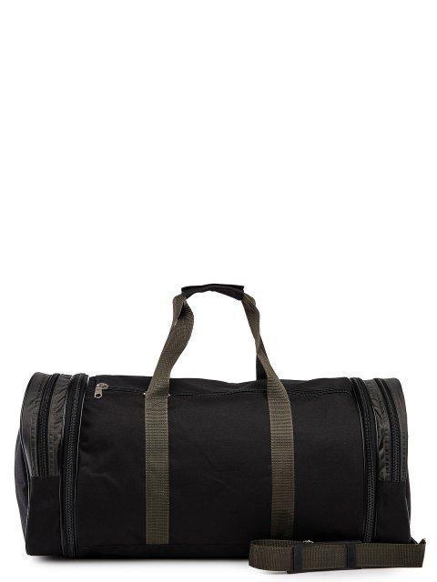 Зелёная дорожная сумка Lbags (Эльбэгс) - артикул: 0К-00027783 - ракурс 3