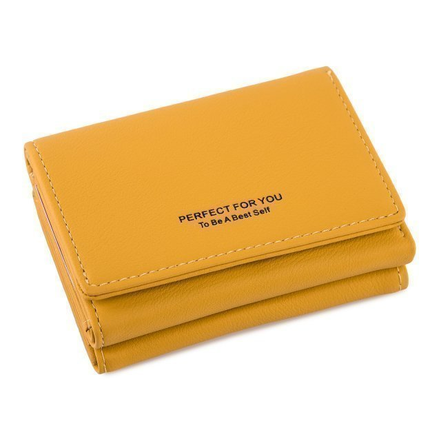 Жёлтое портмоне Barez - 950.00 руб