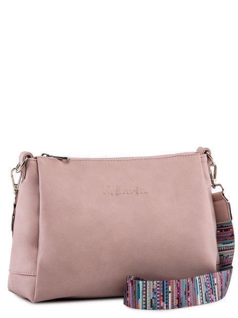 Розовая сумка планшет S.Lavia (Славия) - артикул: 1175.1 910 43 - ракурс 1