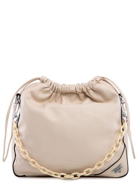 Бежевая сумка планшет Fabbiano - 3699.00 руб