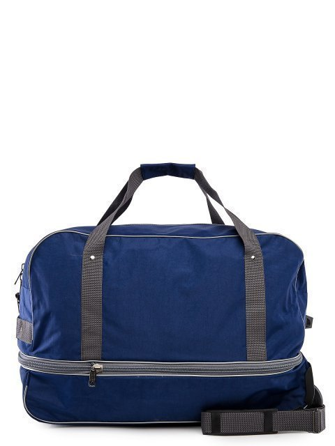 Синий чемодан Lbags (Эльбэгс) - артикул: 0К-00027778 - ракурс 3