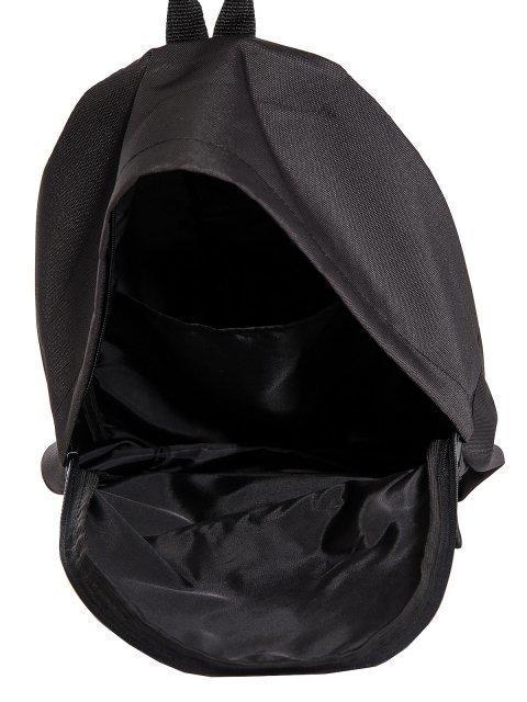 Чёрный рюкзак Lbags (Эльбэгс) - артикул: 0К-00029121 - ракурс 4