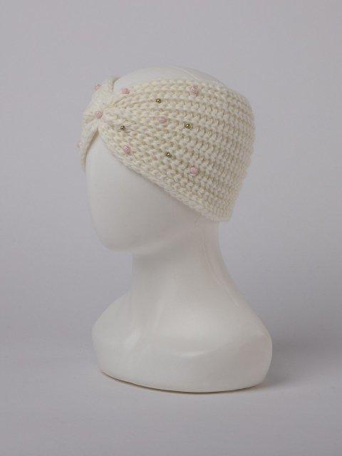 Белая повязка на голову Classic - 399.00 руб