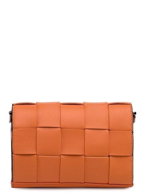 Оранжевая сумка планшет Fabbiano (Фаббиано) - артикул: 0К-00023507 - ракурс 3
