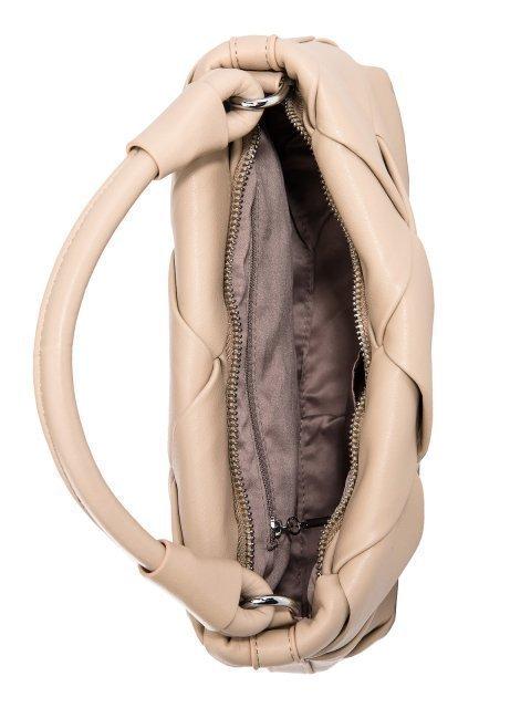Бежевая сумка планшет Polina (Полина) - артикул: 0К-00027767 - ракурс 4