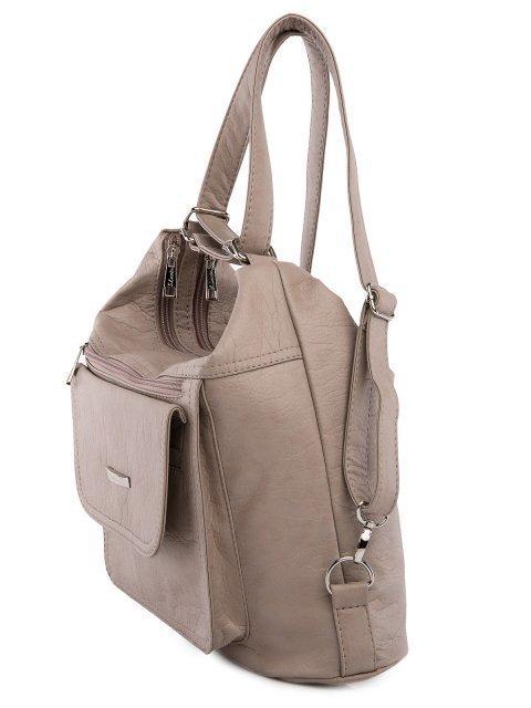Бежевая сумка мешок S.Lavia (Славия) - артикул: 980 601 25 - ракурс 4