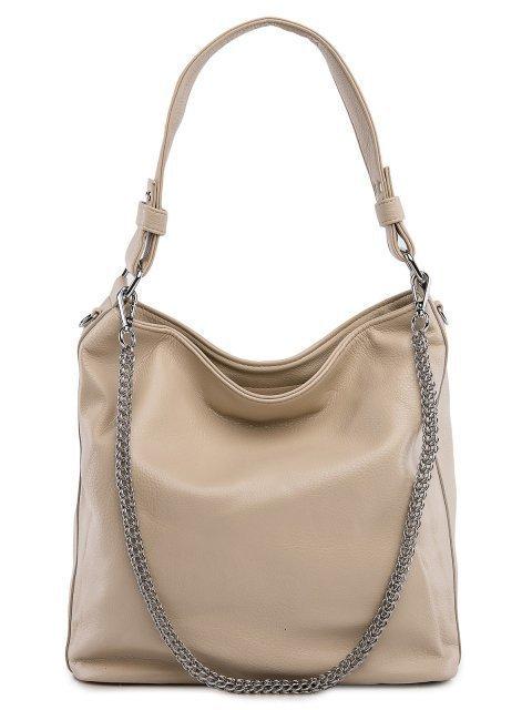 Бежевая сумка мешок Polina - 3199.00 руб