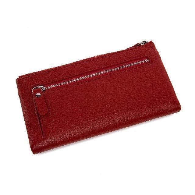Красное портмоне S.Style (S.Style) - артикул: 0К-00019986 - ракурс 1