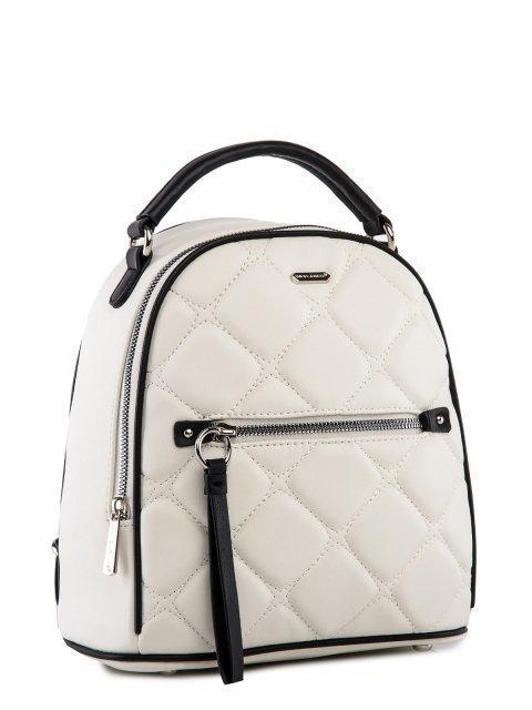 Белый рюкзак David Jones (Дэвид Джонс) - артикул: 0К-00025966 - ракурс 1