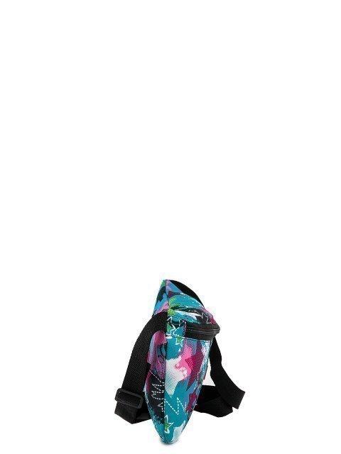 Голубая сумка на пояс Lbags (Эльбэгс) - артикул: 0К-00027786 - ракурс 2