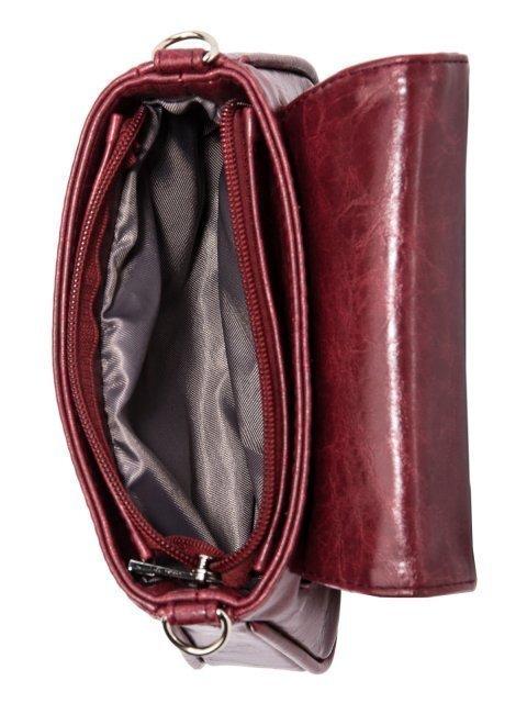 Бордовая сумка планшет S.Lavia (Славия) - артикул: 1115 873 03 - ракурс 4