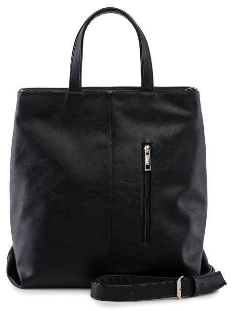 Чёрная сумка классическая S.Lavia (Славия) - артикул: 1217 323 01 - ракурс 3