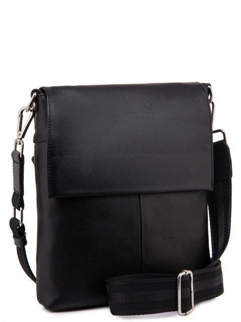 Чёрная сумка планшет S.Lavia (Славия) - артикул: 0066 10 01 - ракурс 1