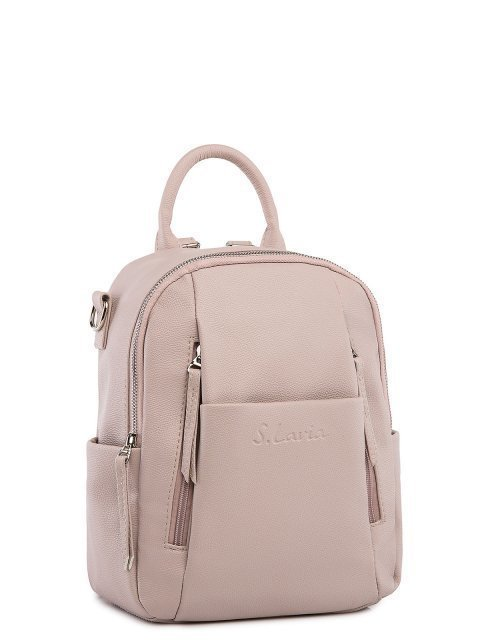 Бежевый рюкзак S.Lavia (Славия) - артикул: 1186 218 20  - ракурс 1