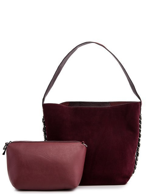Бордовая сумка мешок Valensiy - 6199.00 руб