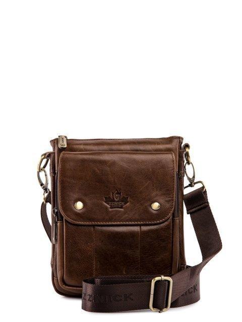 Коричневая сумка планшет Barez - 2799.00 руб