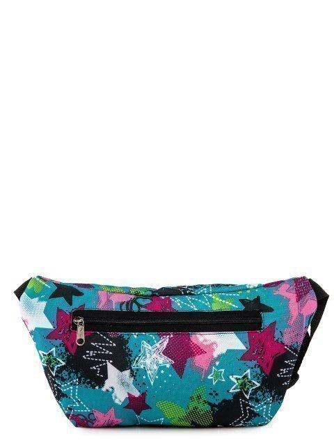 Голубая сумка на пояс Lbags (Эльбэгс) - артикул: 0К-00027786 - ракурс 3