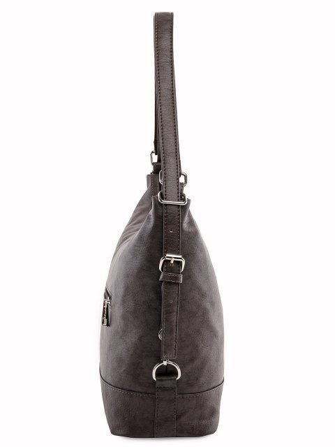Коричневая сумка мешок S.Lavia (Славия) - артикул: 869 601 12 - ракурс 2