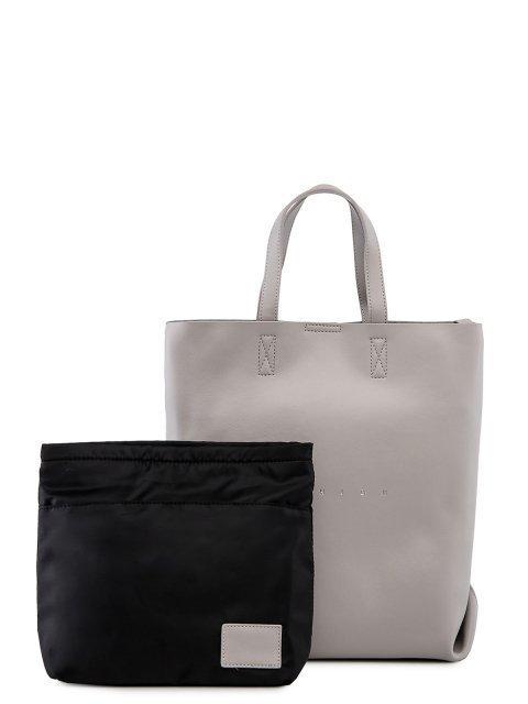 Серый шоппер Polina - 6080.00 руб