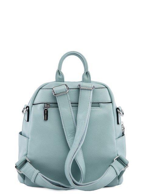 Мятный рюкзак Fabbiano (Фаббиано) - артикул: 0К-00025603 - ракурс 3