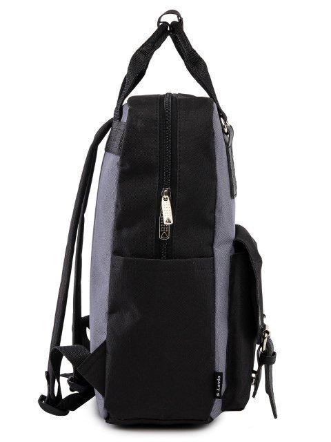 Чёрный рюкзак S.Lavia (Славия) - артикул: 00-72 000 01 - ракурс 2