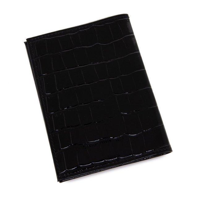 Чёрная обложка для документов S.Lavia (Славия) - артикул: К0000016363 - ракурс 1