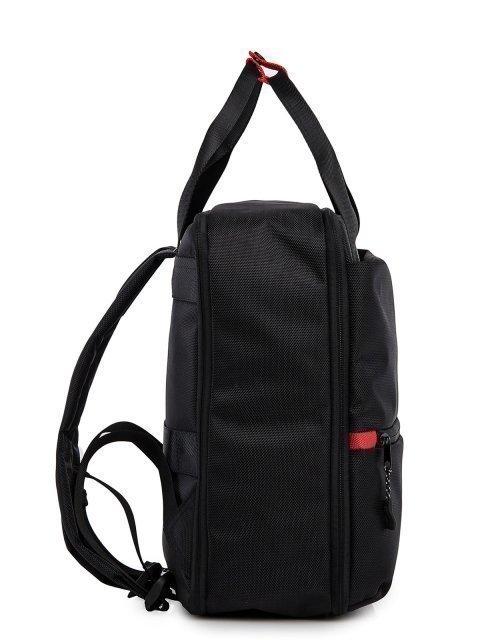 Чёрный рюкзак S.Lavia (Славия) - артикул: 00-100 000 01 - ракурс 2