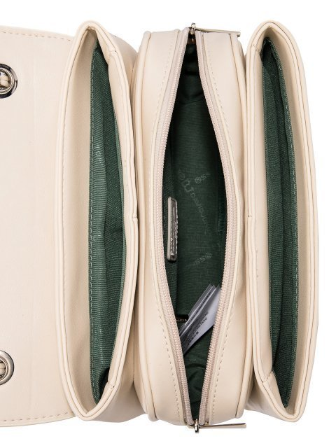 Бежевая сумка планшет David Jones (Дэвид Джонс) - артикул: 0К-00026233 - ракурс 5