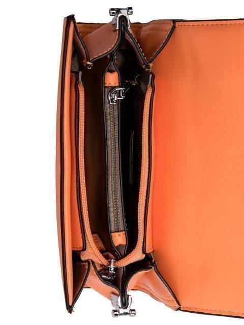 Оранжевая сумка планшет Fabbiano (Фаббиано) - артикул: 0К-00023507 - ракурс 4