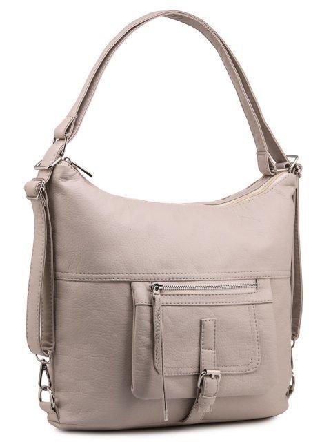 Бежевая сумка мешок S.Lavia (Славия) - артикул: 775 601 20 - ракурс 1