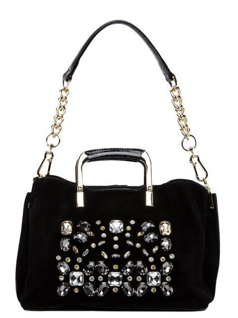 Чёрная сумка классическая Polina - 5484.00 руб