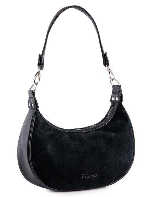 Чёрная сумка мешок S.Lavia (Славия) - артикул: 1237 99 01 - ракурс 1