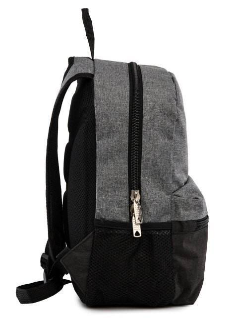 Серый рюкзак Lbags (Эльбэгс) - артикул: 0К-00029123 - ракурс 2