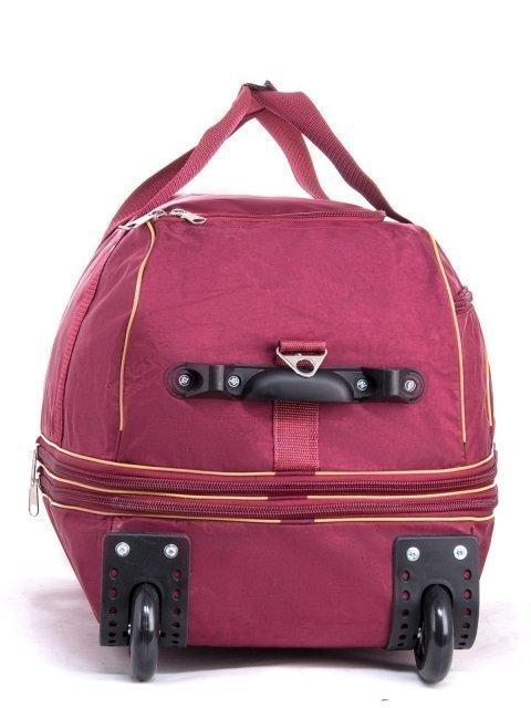 Бордовый чемодан Lbags (Эльбэгс) - артикул: К0000013244 - ракурс 1