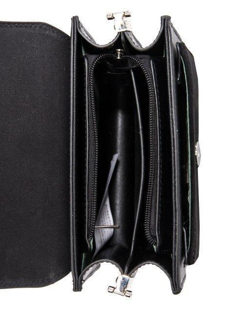 Чёрная сумка планшет David Jones (Дэвид Джонс) - артикул: 0К-00026268 - ракурс 4