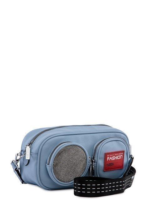 Голубая сумка планшет Fabbiano (Фаббиано) - артикул: 0К-00023510 - ракурс 1