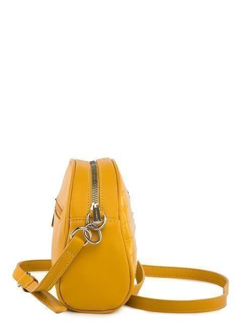 Жёлтая сумка планшет David Jones (Дэвид Джонс) - артикул: 0К-00026291 - ракурс 2