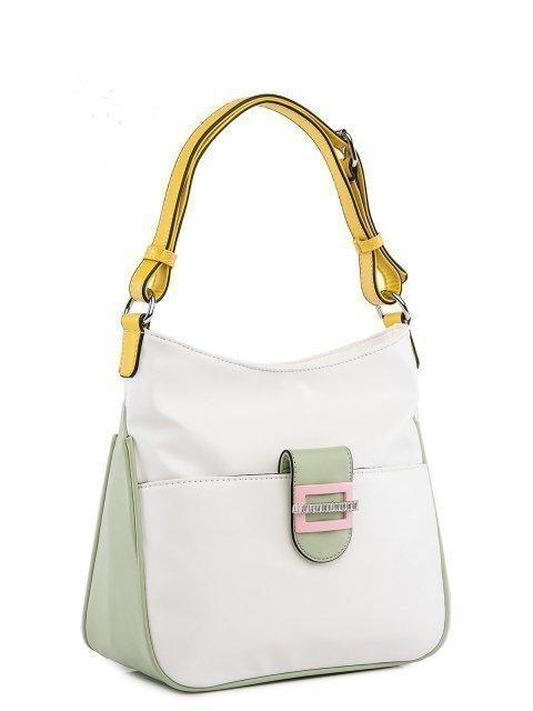 Белая сумка мешок Fabbiano (Фаббиано) - артикул: 0К-00025607 - ракурс 1
