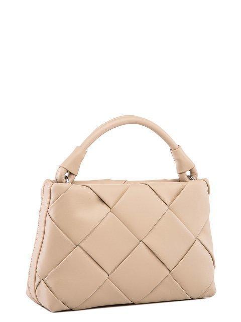 Бежевая сумка планшет Polina (Полина) - артикул: 0К-00027767 - ракурс 1