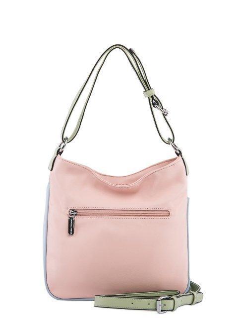 Розовая сумка мешок Fabbiano (Фаббиано) - артикул: 0К-00025608 - ракурс 3